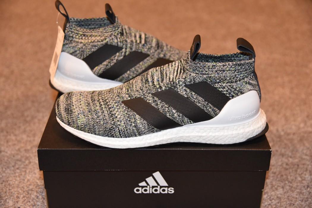 d6ae583065e Adidas A16+ OREO MULTI-COLOR ULTRA BOOST PURECONTROL Size US 10.5   EU 43-
