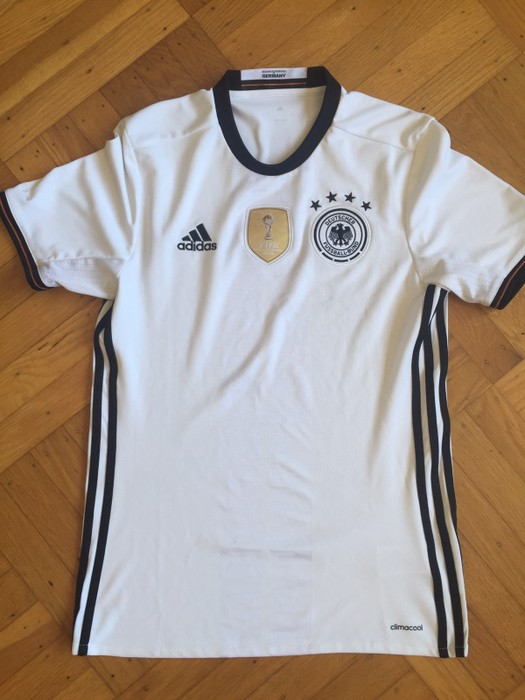 e95f92930ad Adidas Germany National Team Soccer Jersey With 2014 World Cup ...