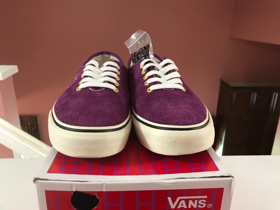 c5c343a1cb2a70 Vans VANS VAULT X LQQK STUDIO Authentic One Piece LX Grape translucent mens  sz 9.5