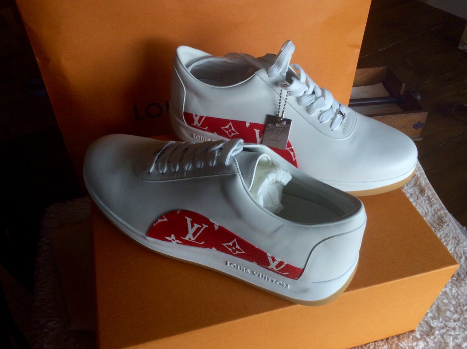 35857e68ac2d Supreme supreme louis vuitton Sport Sneaker Size 10.5 - Low-Top ...
