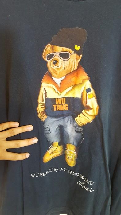 b9007b76cea Wu Tang Clan Wu Bear Graphic Tee Mens XL Size xl - Short Sleeve T ...