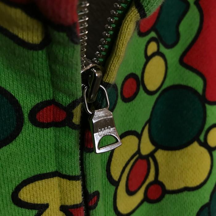 38cf48860261 Bape Bathing Ape Psyche Green Camo Hoodie Size l - Light Jackets for ...