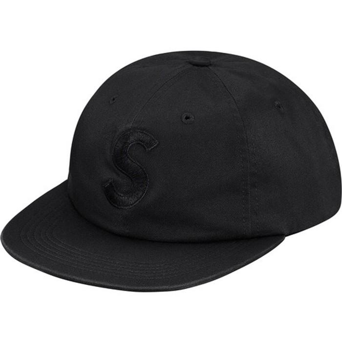 c055f4ca3a6 Supreme. NEW Supreme FW17 Tonal S Logo 6-Panel hat Black. Size  ONE SIZE