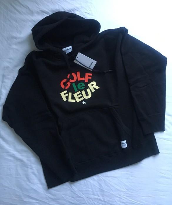 4b47c0b1cd72 Converse Converse x Golf Wang Le Fleur Hoodie Black Size US L   EU 52-
