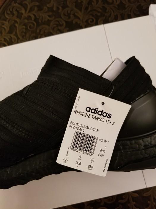 bb07594e4 Adidas ADIDAS NEMEZIZ TANGO 17+ 360 AGILITY ULTRA BOOST - TRIPLE BLACK  CG3657 Size US