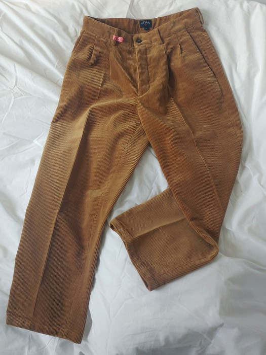 7adcc3d9429e39 Noah Double Pleated Corduroy Pants in Fawn Size 32 - Casual Pants ...