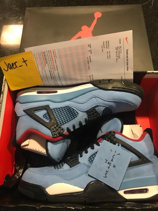 8eee20aa8b0e7d Nike Air Jordan 4 Cactus Jack Size 11 - Hi-Top Sneakers for Sale ...