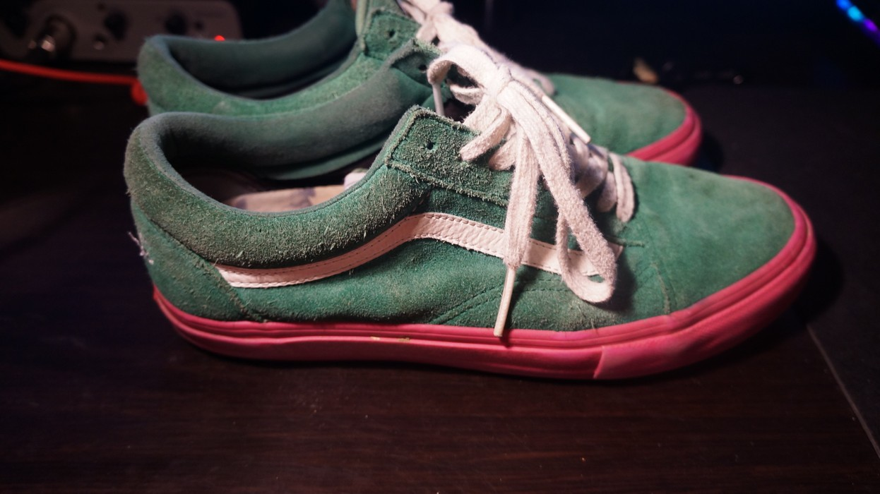 58918b1bead5 Golf Wang Watermelon Vans Size 8 - Low-Top Sneakers for Sale - Grailed