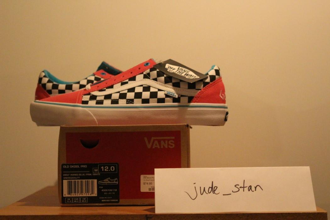 66c2bdd82b Vans Golf Wang Syndicate Old Skool Size 12 - Low-Top Sneakers for ...