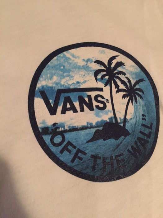 4073742a4f Vans Palm Tree T Shirt Size s - Short Sleeve T-Shirts for Sale - Grailed