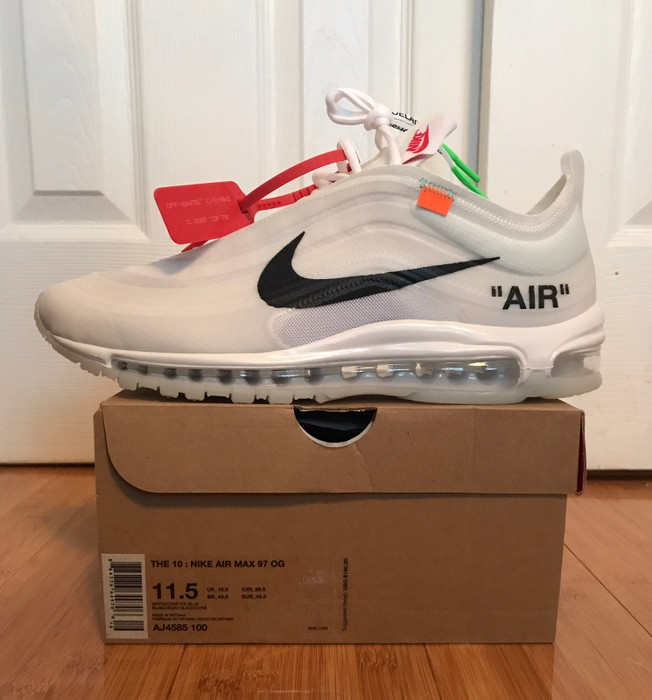 b461ac786 Nike Nike Off White Air Max 97 Size 11.5 DS Virgil Abloh Size US 11.5