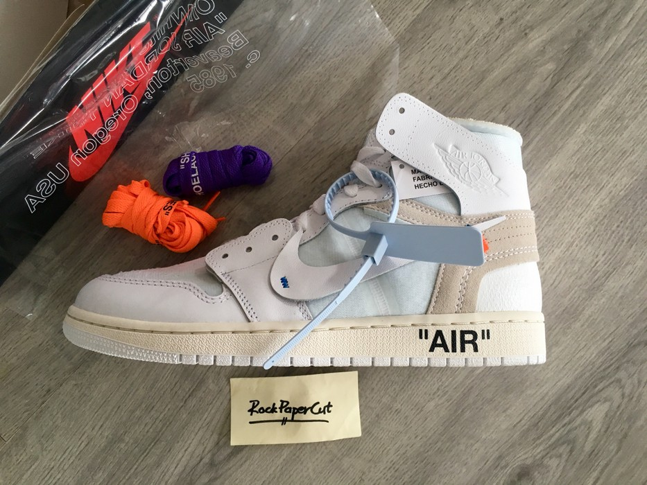 b582d4a7b728a4 Nike Nike Air Jordan 1 x Off White NRG Size 9.5 - Hi-Top Sneakers ...