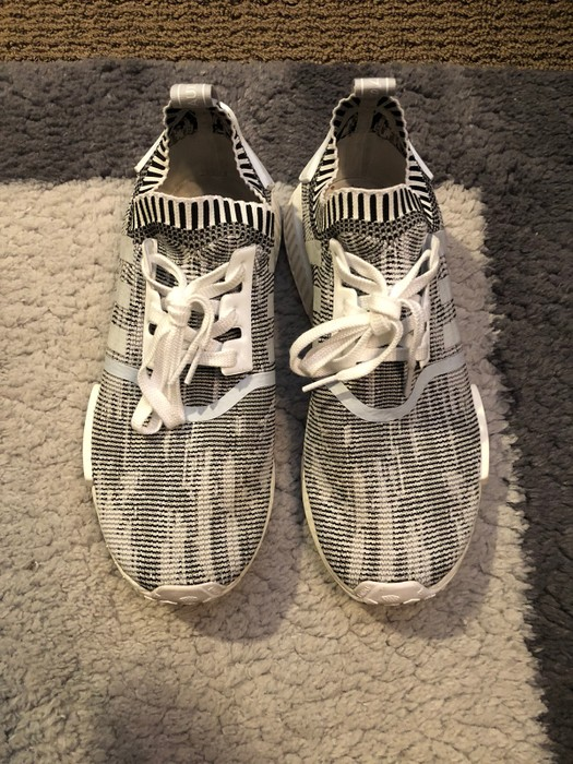 aaf91b08d86e6 Adidas NMD R1 Pk Oreo Size 10.5 - Boots for Sale - Grailed