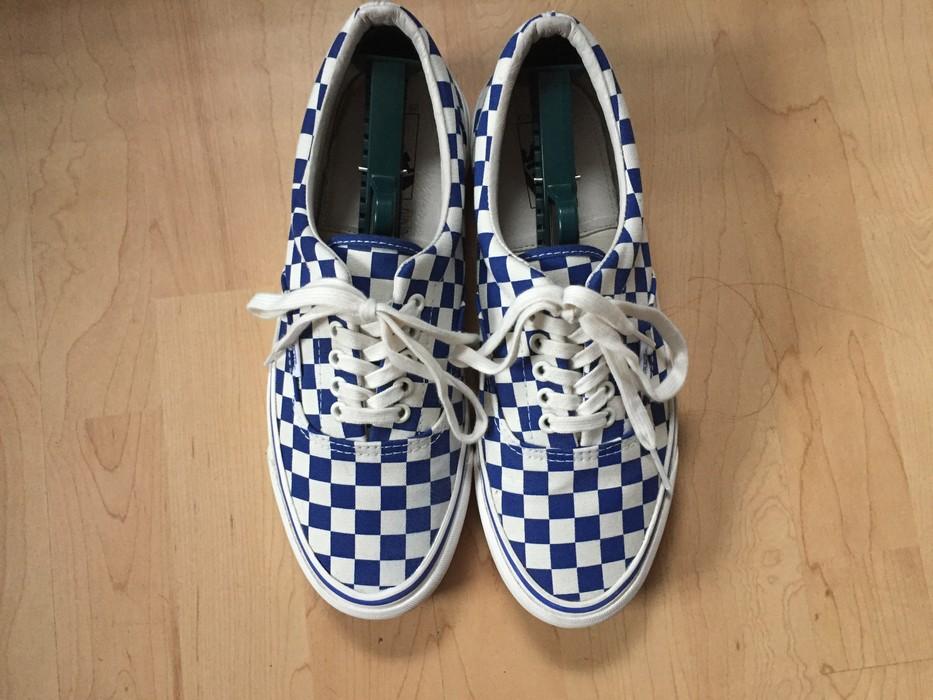 c22d4d5b36 Vans Vans Vault OG Era LX (Checkerboard   Blue) Size 10 - Low-Top ...