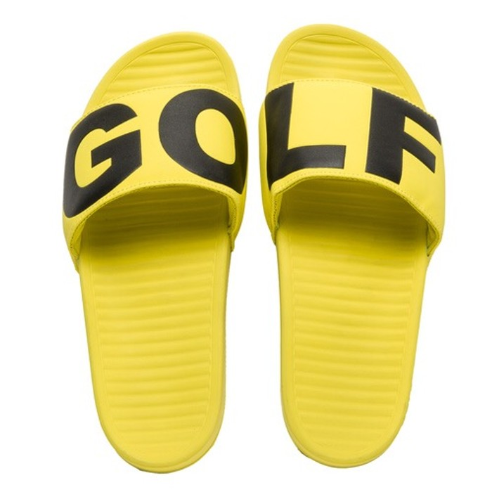 9c085e8f1747 Golf Wang Golf Wang Slides Yellow Size 10 - Sandals for Sale - Grailed