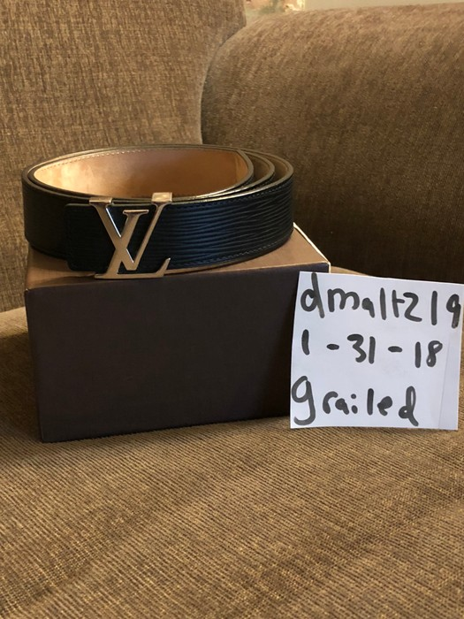 cd8baf6de5f3 Louis Vuitton Louis Vuitton LV Belt Size 32 - Belts for Sale - Grailed