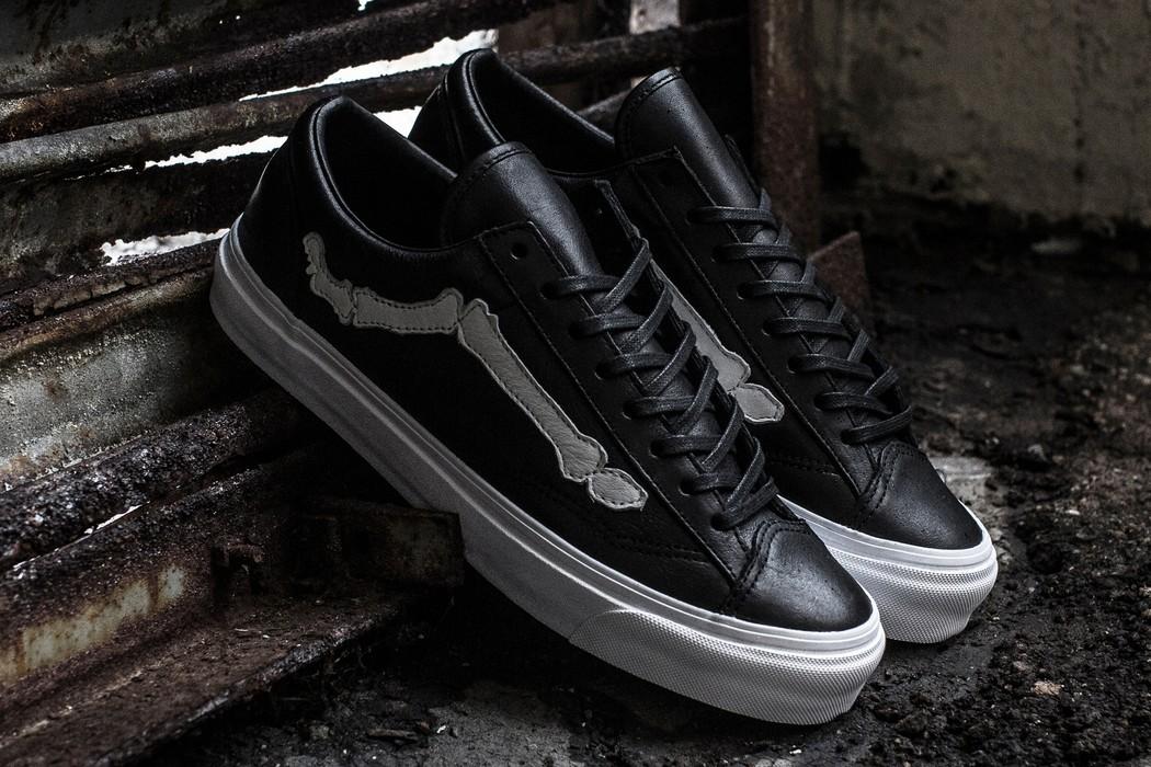 673732b92b Vans Blends X Vans Vault OG Style 36 LX Bones Black Size 9.5 Size US 9.5