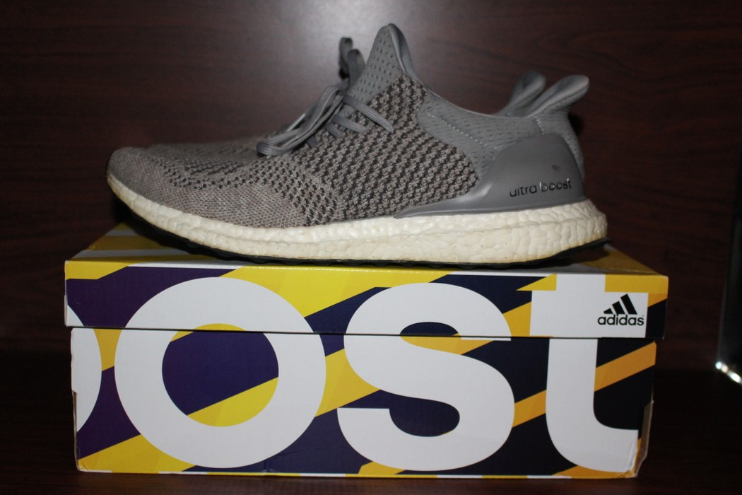 328bc4a5b7aa7 Adidas Custom Uncaged Wool Grey Ultra boost 1.0 Size 9.5 - Low-Top ...