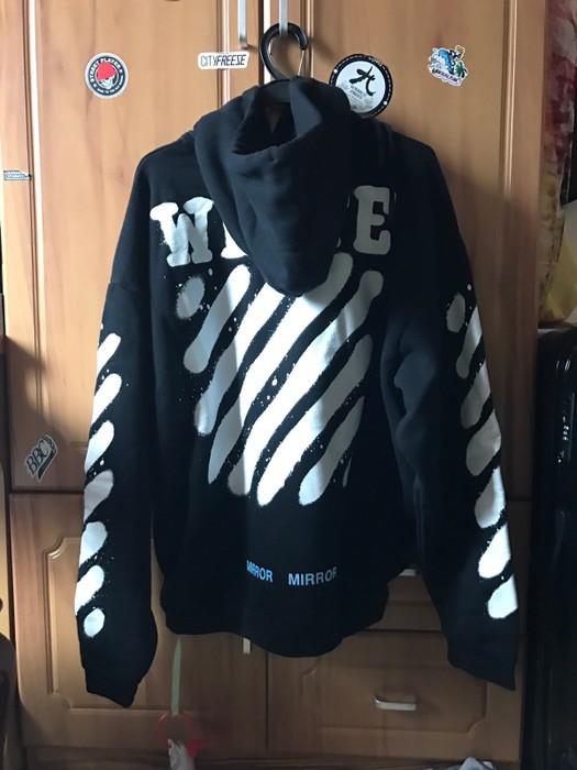 0f2e14338e47 Off-White OFF WHITE Graffiti Hoodie Size xs - Sweatshirts   Hoodies ...