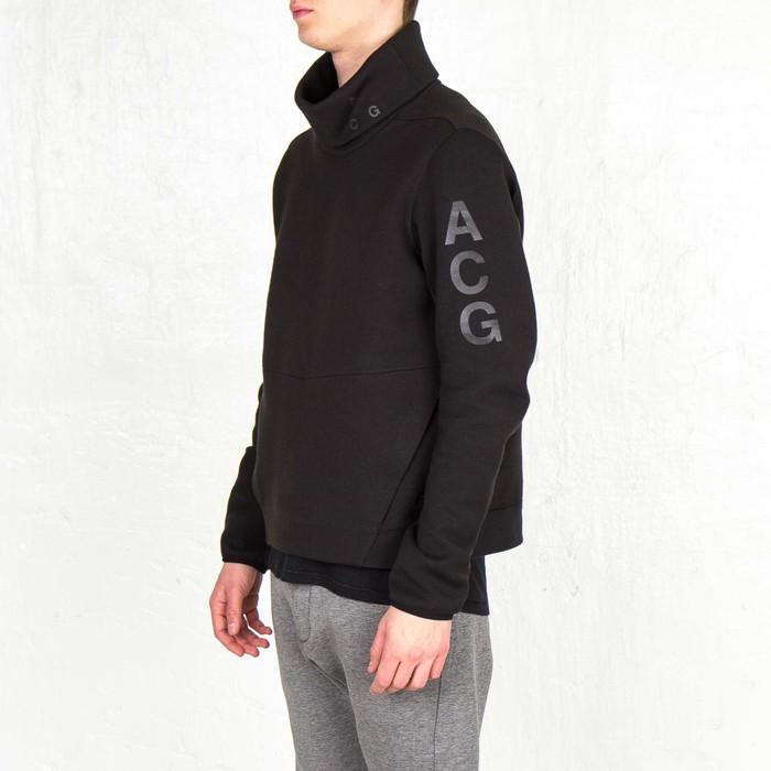 f0c06eca2b37 Nike ACG NikeLab ACG Tech Fleece Funnel Black Size Small Sweater Size US S    EU