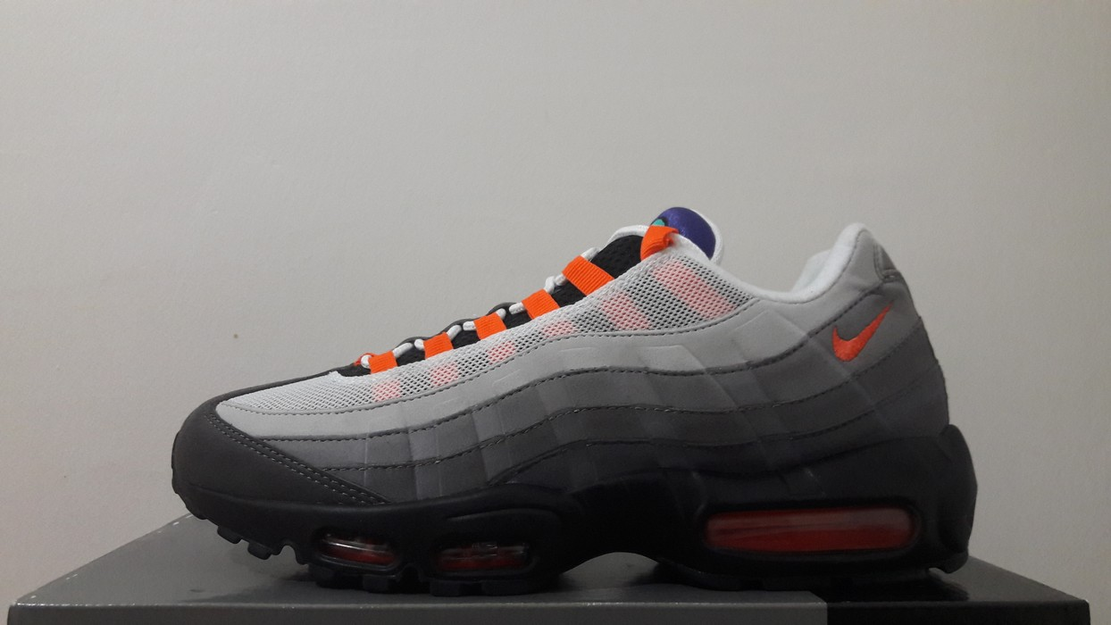 low priced 22631 96b56 Nike. air max 95 og qs greedy what the multicolor (810374-078)