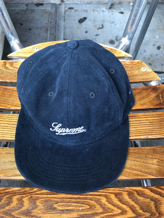 9f54feea3ca Supreme Brushed Twill Script 6 Panel Hat Size one size - Hats for ...