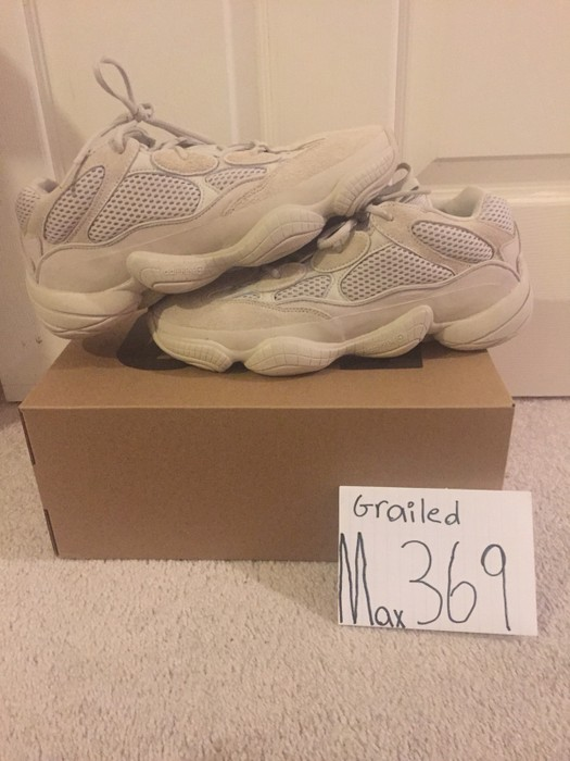 d6472a4fe Adidas Yeezy 500 Blush Desert Rat Size 10 - Low-Top Sneakers for ...