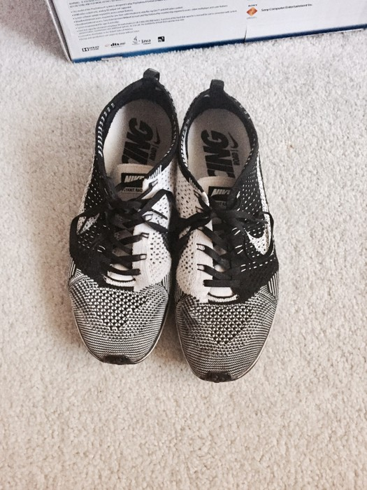 b0f277040d2be Nike OG Orca Flyknit Racer (White Tongue) Size 9 - Low-Top Sneakers ...