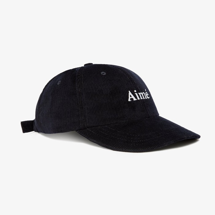 23bf73e2cff Aime Leon Dore CORDUROY LOGO CAP - DARK NAVY Size one size - Hats ...