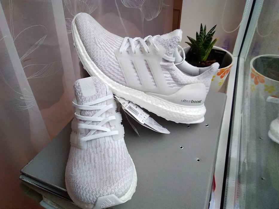 6be20b8dc9a0a Adidas Adidas Ultra boost 3.0 women womens girl white pearl grey under  retail Size US 8.5