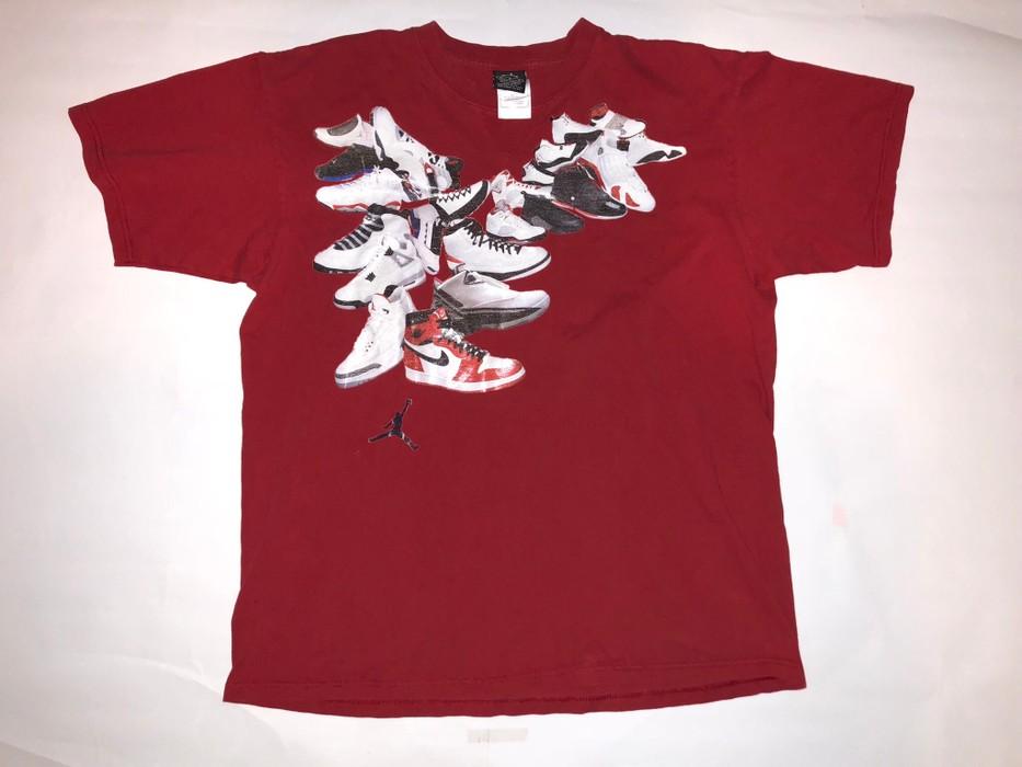 216c5c77aa08 Nike Michael Jordan 1 2 3 4 5 6 7 8 9 10 11 12 13 14 Retro Chicago ...