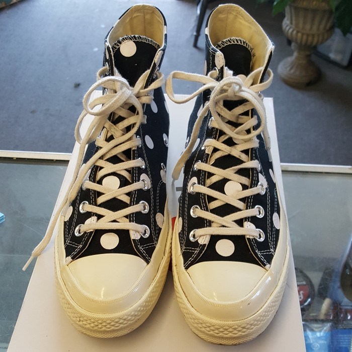 3ceaa1c1ff6dc5 Converse CDG Converse Polka Dot Size 10 - Hi-Top Sneakers for Sale ...