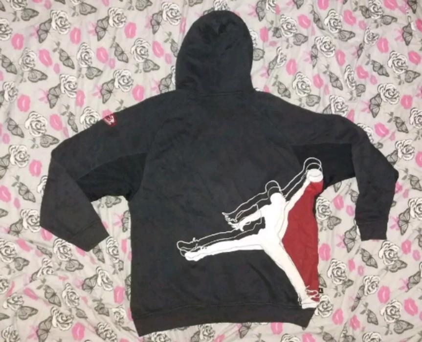 6798d91a3caafa Nike RARE VINTAGE JORDAN JUMPMAN JACKET MICHAEL AIR JORDAN JUMPMAN FLIGHT AIR  JORDAN Size US L