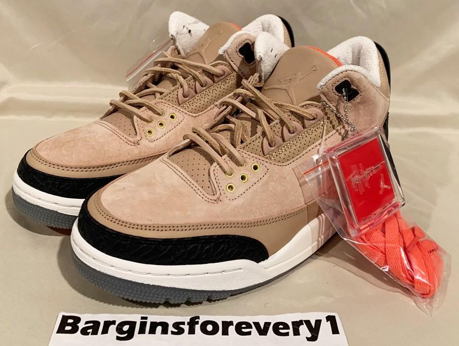 474492c38da1 Jordan Brand Air Jordan 3 Retro JTH NRG - Size 8 - Bio Beige ...