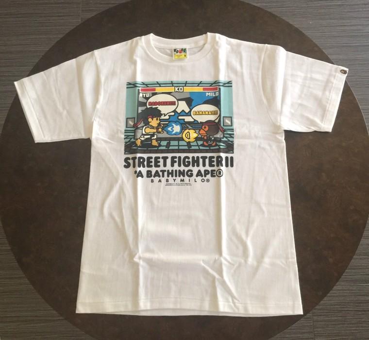 440994eb5 Bape Bape x capcom x Street Fighter V Milo vs Ryu 2016 Size m ...