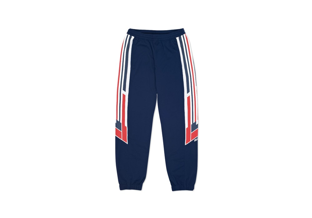 357fd2275777 Adidas Adidas Palace Shell Track Pant Night Indigo   White Size US 32   EU  48