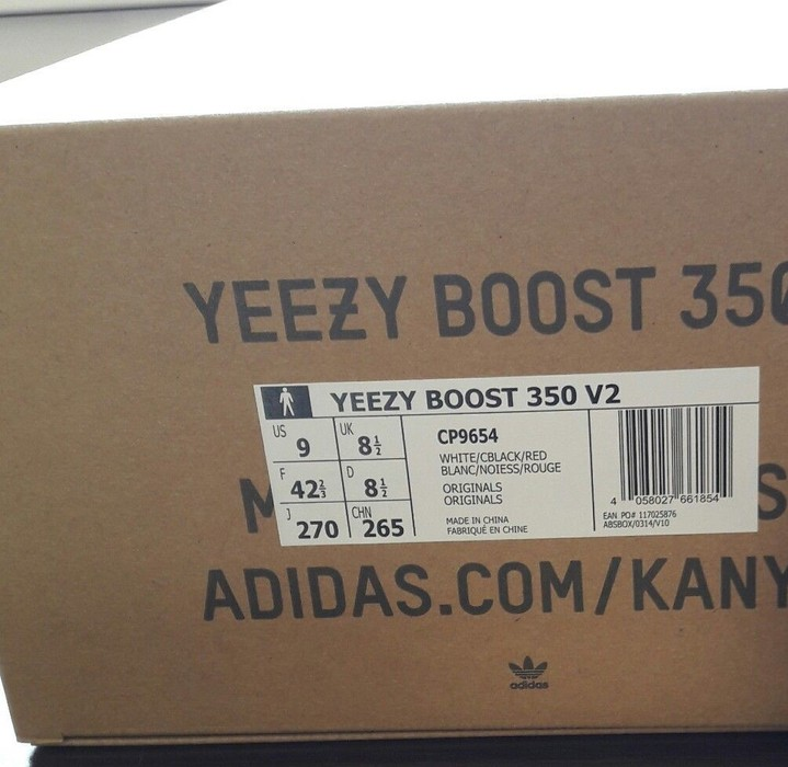 136362986884a Yeezy Boost Yeezy Boost 350 v2 Zebra 9 US   8.5 UK - New 100% Size 9 ...