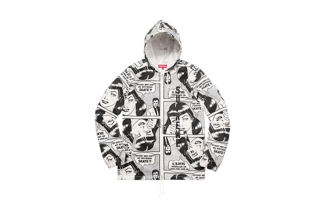9aee21494c72 Supreme Supreme Thrasher Boyfriend Hooded Zip Up Jacket Size US M   EU 48-50