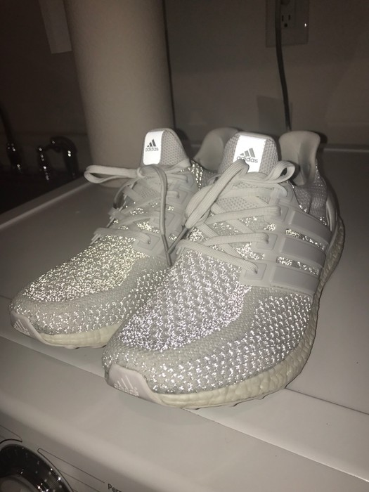 948add3ff5f Adidas Ultra Boost 2.0 Triple White Reflective Size 11 - Low-Top ...