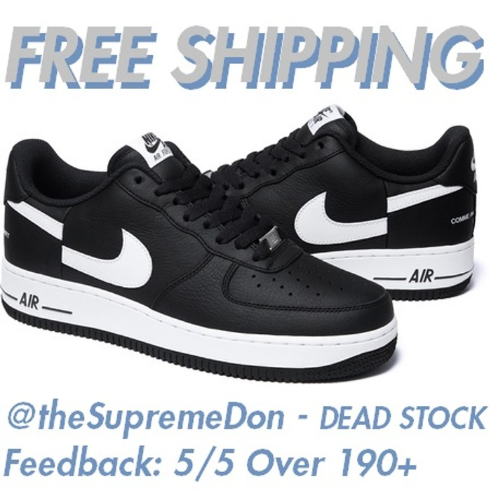 b1c5a16e7c5e Supreme Supreme CDG Air Force 1 Low   FREE SHIPPING   FW18 dead stock comme  des garcons air ...
