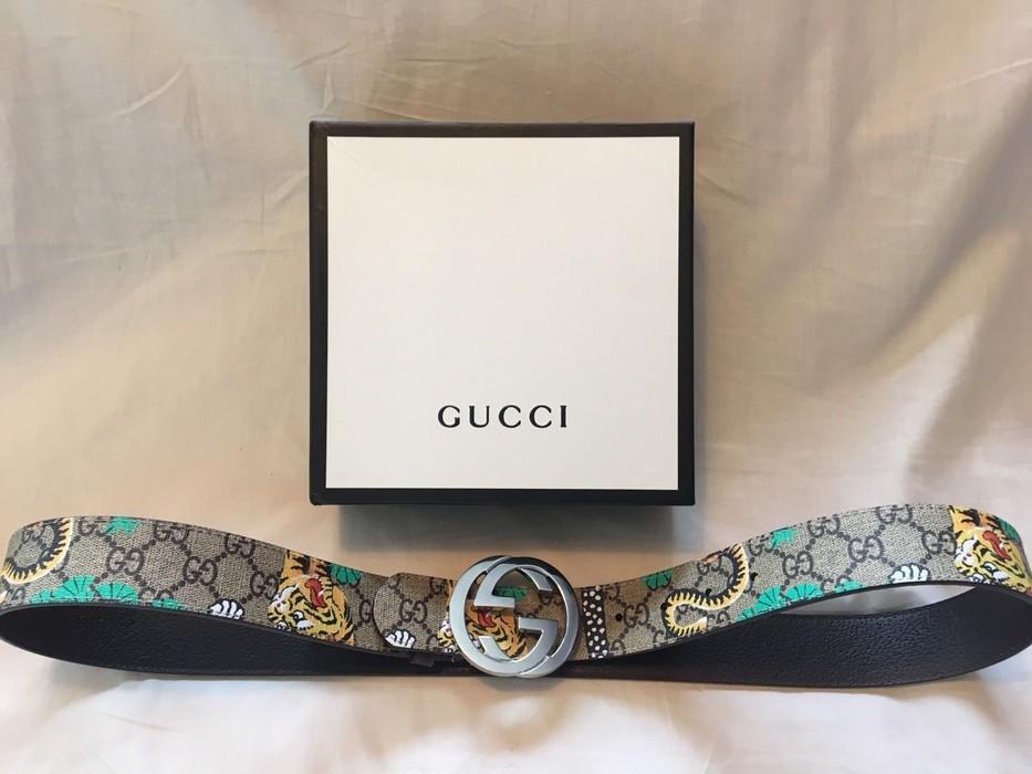 a482cf16f7e Gucci NWT- Gucci Bengal Belt 105 cm- w  dust bag and box Size 34 ...
