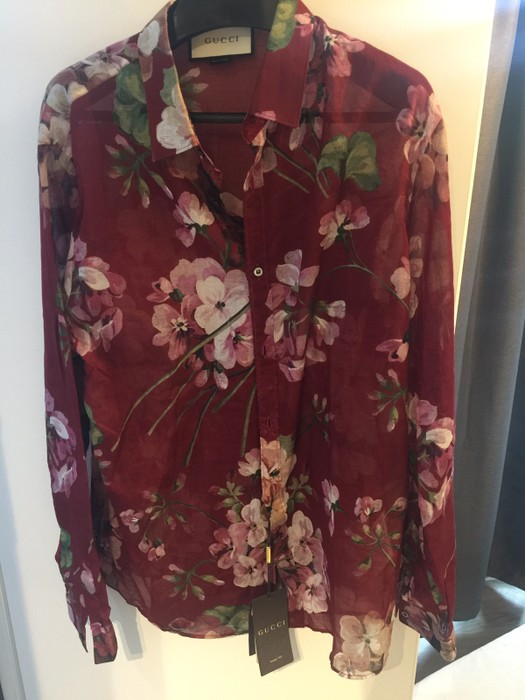 8fc30f38b Gucci Gucci Flower Bloom Shirt Size m - Shirts (Button Ups) for Sale ...