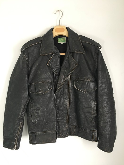 dfd07e409dfcd Levi s Vintage Clothing Levis Vintage Clothing LVC 1950s Brando Leather  Motorcycle Leather Jacket Made in Italy