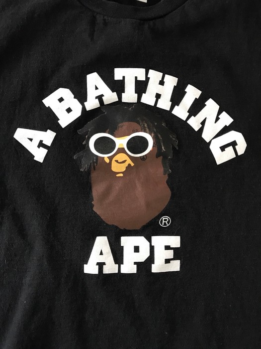5384c7f6 Bape Bape X Wiz Khalifa 10th Anniversary Size xl - Short Sleeve T ...