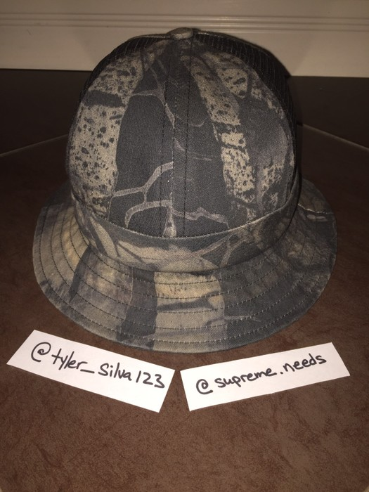 7d87dae9508ba Supreme Supreme Side Mesh Camo Bell Hat Size one size - Hats for ...