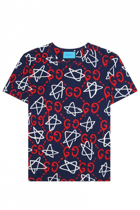 8d1338efb9c Gucci Gucci Ghost Monogram T-shirt Size xl - Short Sleeve T-Shirts ...