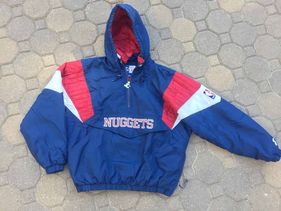 922815a8 Starter Vintage 90s Denver Nuggets NBA Starter Jacket Size l - Light ...