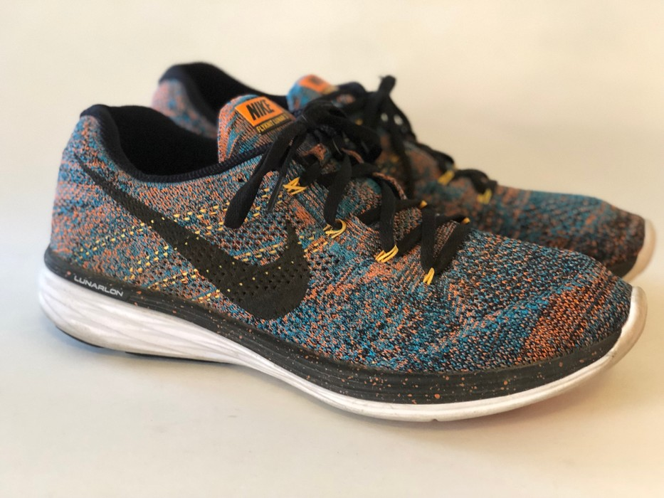 94e8aa74311 Nike Nike Flyknit Lunar 3 - Multicolor Size 9.5 - Low-Top Sneakers ...