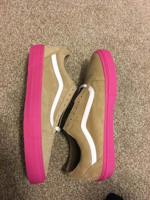 db8ec47f89 Vans Vans syndicate Golf Wang (brown pink) Size 12 - for Sale - Grailed