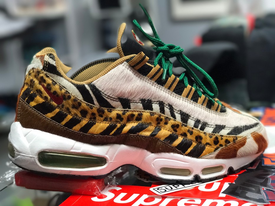 new arrival 30f43 bd954 Nike Supreme Atmos Animal Pack Nike Air Max 95 Size 9 - Low-Top ...